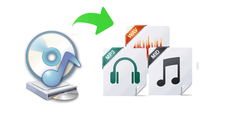 Extract audio from CDs to MP3