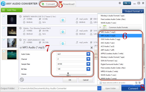 Convert YouTube to Audio