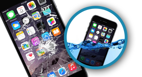 Recover from broken iPhone