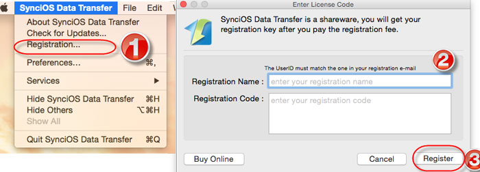 register syncios data transfer mac version