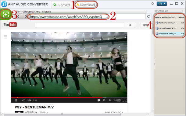 Download YouTube Video to Audio