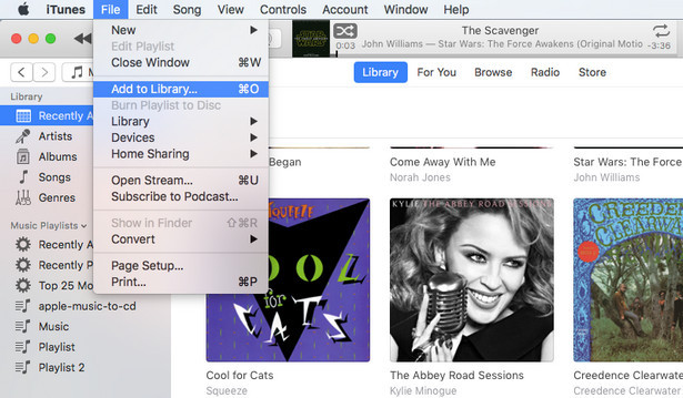 Add Amazon Music songs to iTunes