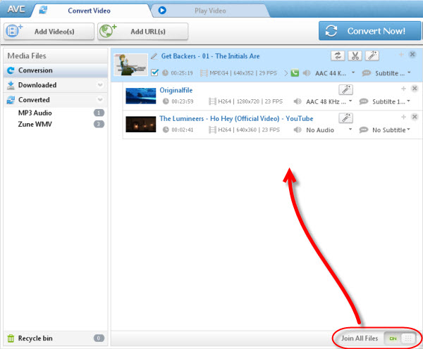 How to Cut or Merge MP3/WAV/M4A audio files with free mp3