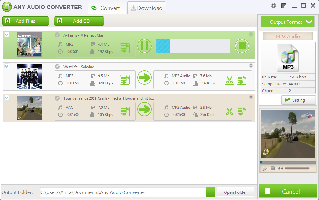 Free MP3 Converter - Free Download the MP3 Converter to