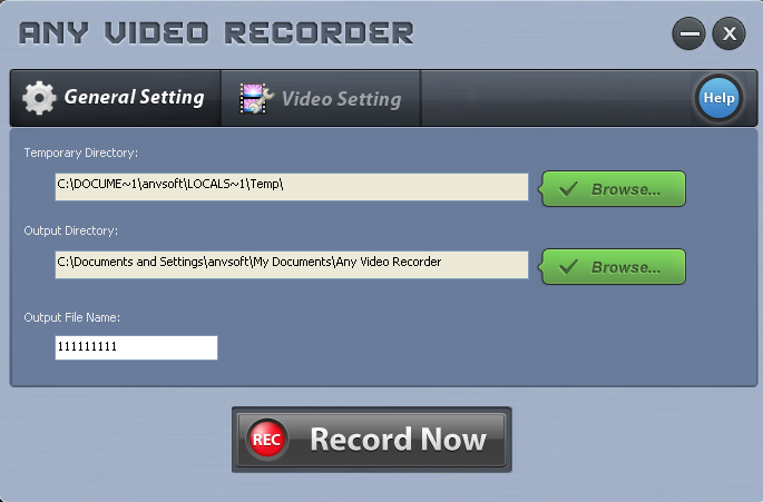 Any Video Recorder Free Download Screen Recorder To Capture