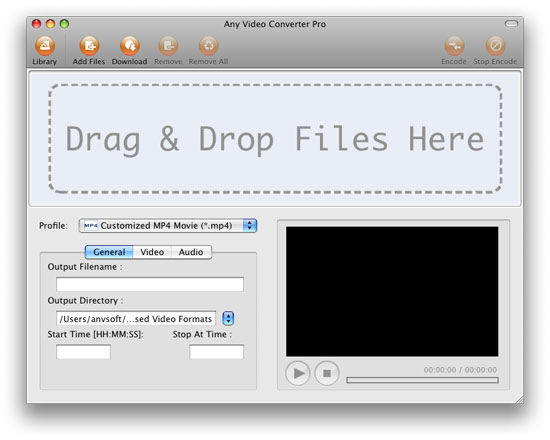 video formats for mac