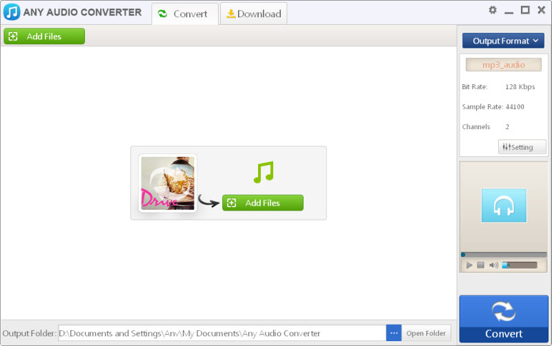 Any Audio Converter Freeware 3.21